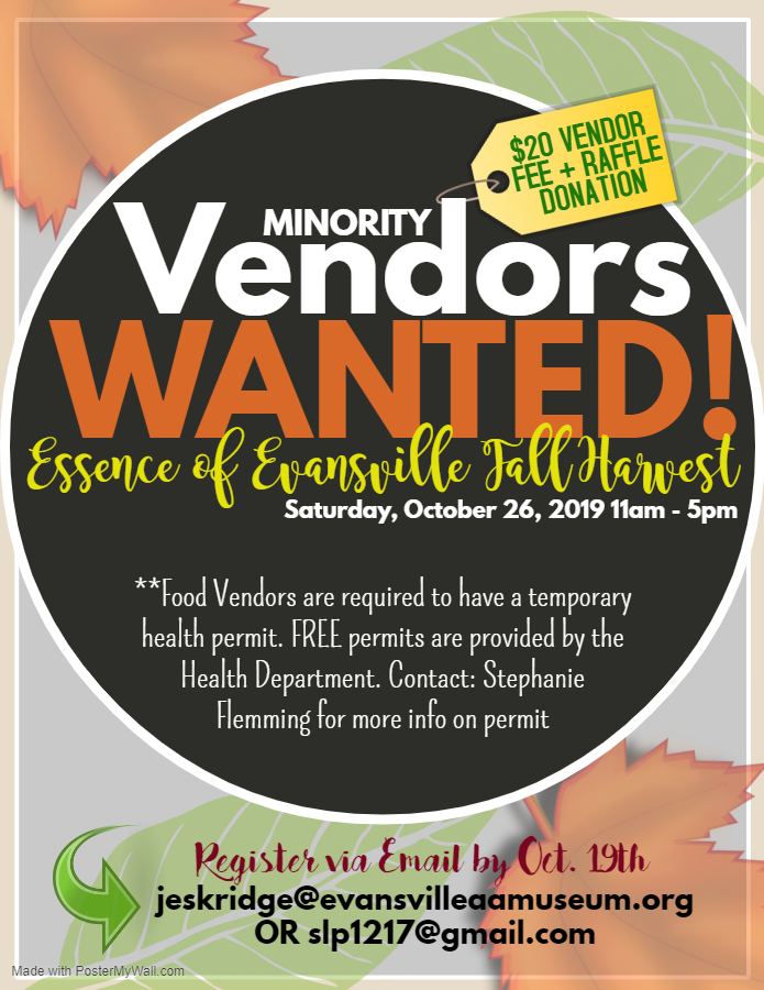 Minority Vendor Fall Festival 2019